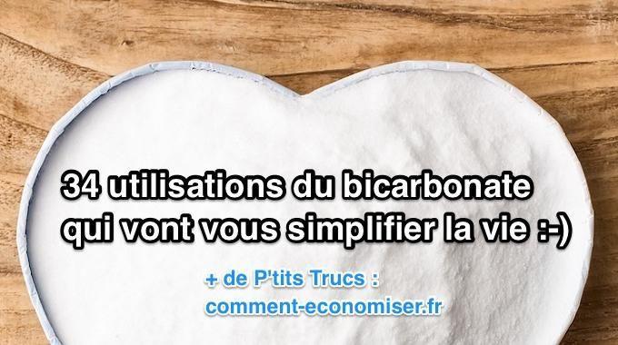 Le bicarbonate de soude est un ingrédient indispensable !Pourquoi ? Car il sait tout faire dans la maison.En plus, il est super économique et sans danger pour votre santé.À