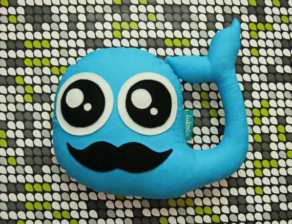 Hey, I found this really awesome Etsy listing at https://www.etsy.com/listing/255336272/blue-plush-mustache-whale-soft-and-cute
