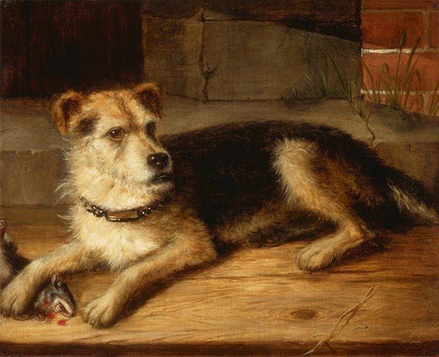 Cornelius Krieghoff - Portrait of Jerry