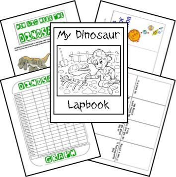 74 best creation science images on pinterest homeschooling free dinosaur unit study lapbook creation based frugal homeschool family fandeluxe Images