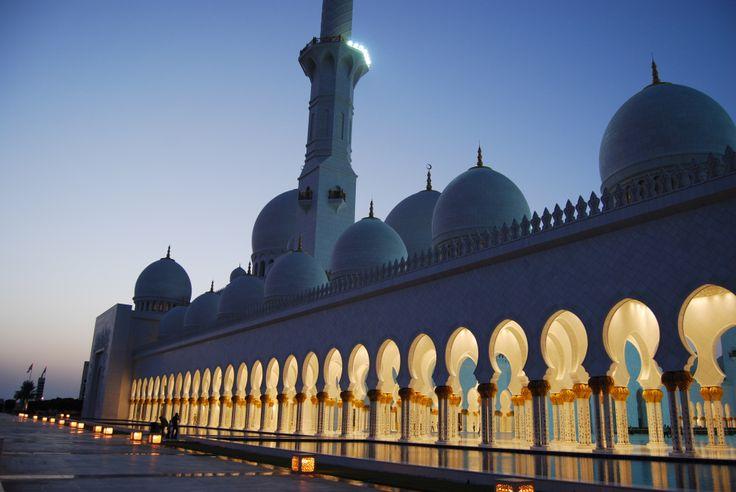 Abu Dhabi,Moschea Sheikh Zayed