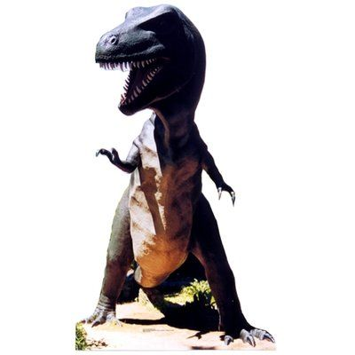 Advanced Graphics Tyrannosaurus Rex Life-Size Cardboard Stand-Up Decorative Figure