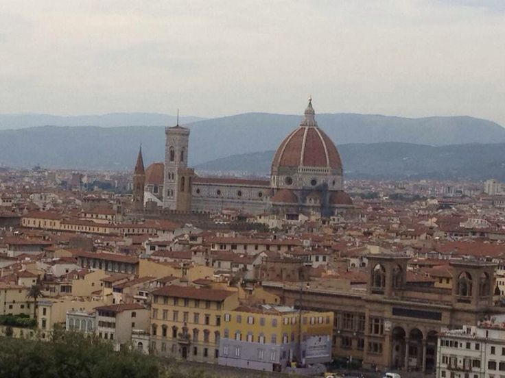 a city view of beautiful florence, italy.