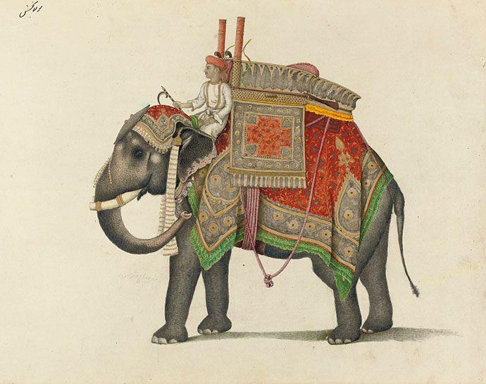 mughal elephants