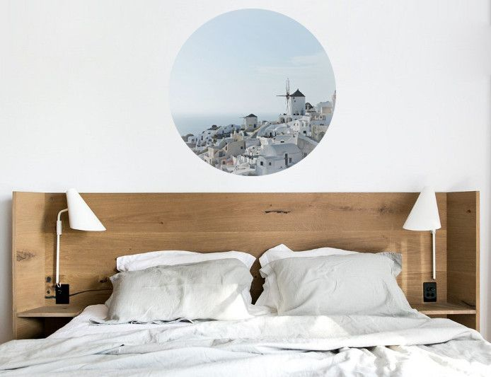 S is for Santorini, a beautiful, removable wall decal for your home or office – Atlas & Odyssey
