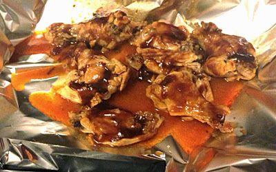 Clean Eating Juicy Crockpot Chicken Wings- clean, healthy tailgate food!
