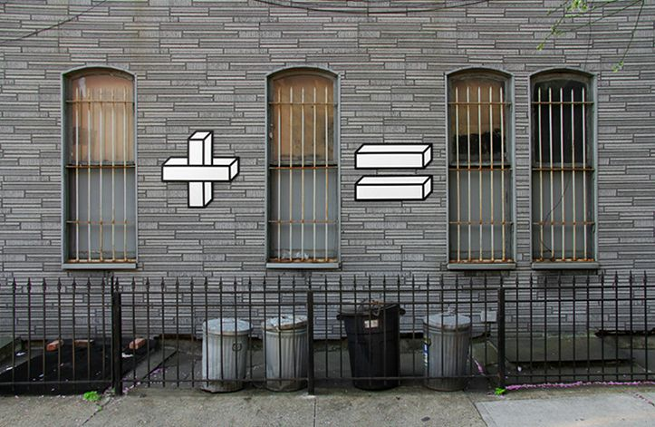 Daily D3sign: DAILY DESIGN: Matematyczny Streetart by AAkash Nih...