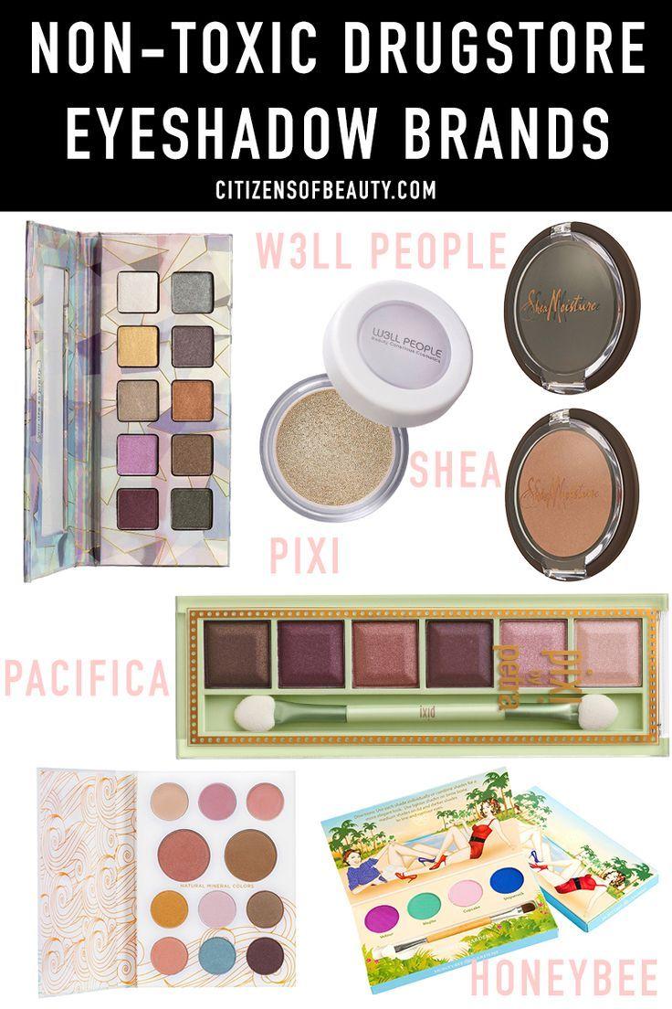 Best NonToxic drugstore Eyeshadow Makeup Brands BEAUTY
