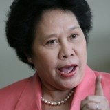 Miriam Defensor Santiago Tells Fr. Arevalo that 'Hell' is Just a Metaphor