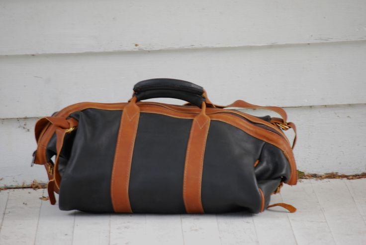 black courier bag