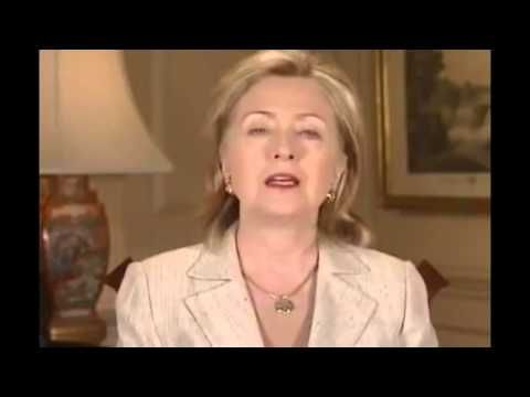 "Hillary Clinton Endorses Former KKK Member Robert Byrd as Secretary of S... Video Proof Hillary Clinton letting you know who her mentor is Robert Byrd ""Hillary Clinton hates black people."" - Kanye West Clinton no surprise backing a KKK racist no way is this woman fit for President And she still had the audacity to call Trump a racist! Hypocritical bitch! I hope you end up in jail. Cut the racism, cut the crap! You would be a horrible leader! The members of the kkk are Democrats."