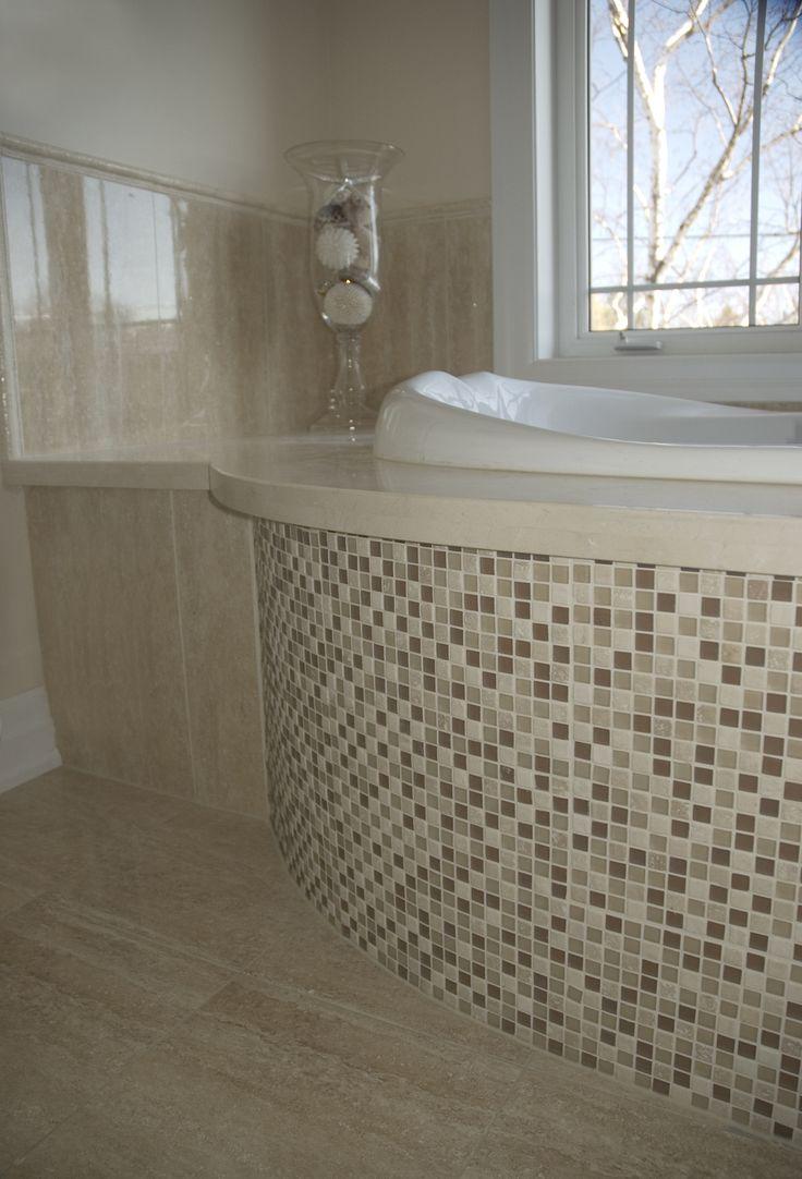 Mosaic Tiled Tub Skirt Mosaics Amp Decorative Accents