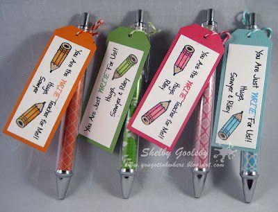 Cute Teacher Appreciation Gifts!!