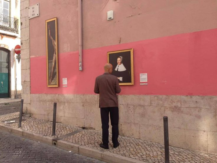 """O Museu Nacional de Arte Antiga promove, numa parceria com a Câmara Municipal de Lisboa e a HP Portugal, a exposição """"ComingOut. E se o Museu saísse à rua?"""""""