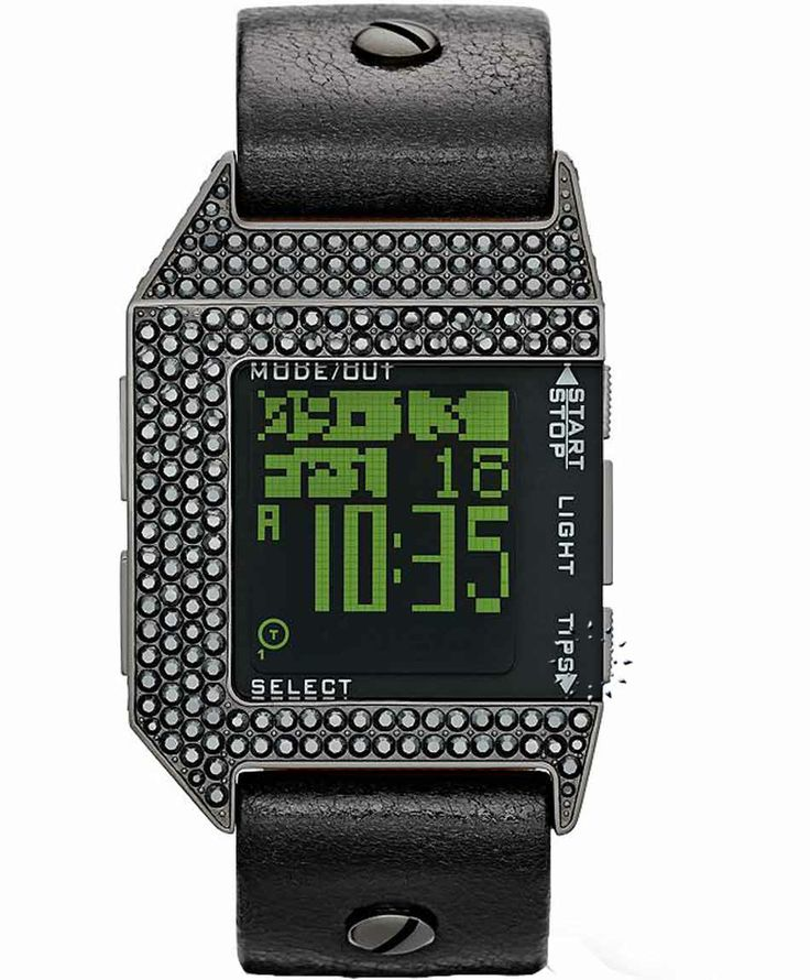 DIESEL Limited Edition Tiptronic Digital Black Rubber Strap Η τιμή μας: 337€ http://www.oroloi.gr/product_info.php?products_id=36204