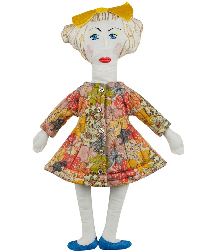 Grayson Perry Liberty Print Doll, National Treasures
