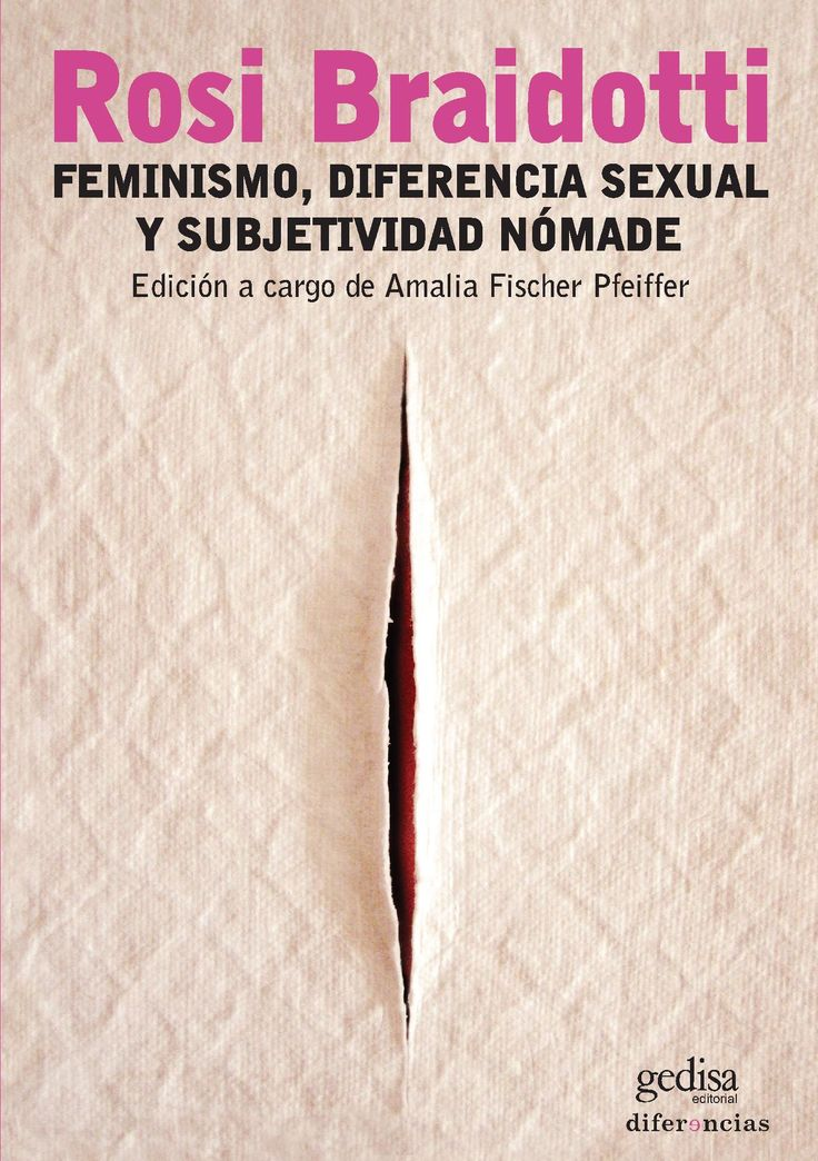 Feminismo, diferencia sexual y subjetividad nómade (PRINT VERSION) REQUEST/SOLICITAR: http://biblioteca.cepal.org/record=b1253218~S0*spi