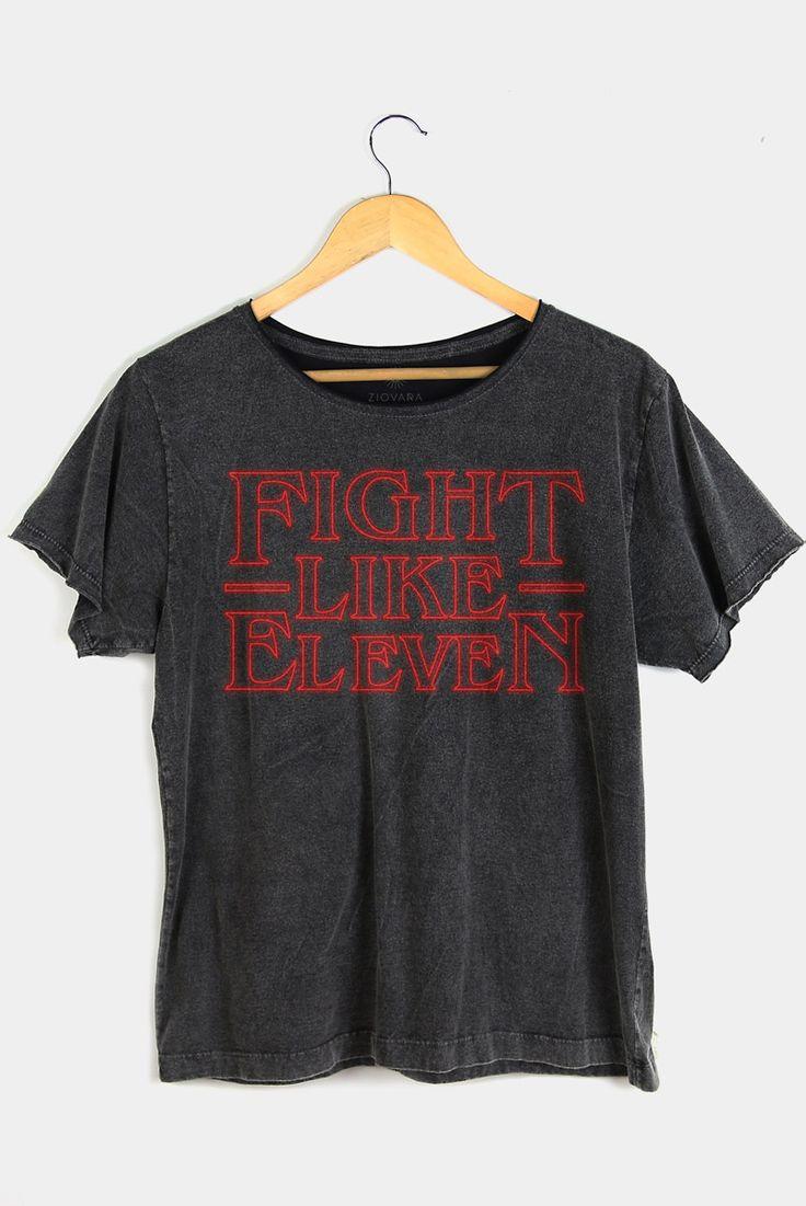 T-shirt Fight Like Eleven | Stranger Things