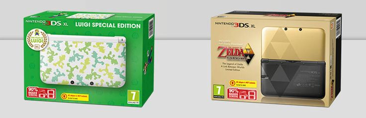Έρχονται τα Zelda: A Link Between Worlds & Luigi 3DS bundles
