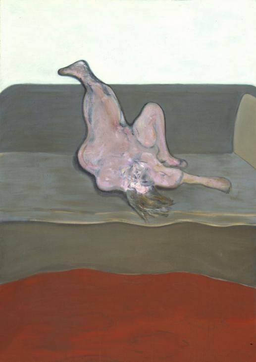 Francis Bacon, Reclining Woman, 1961