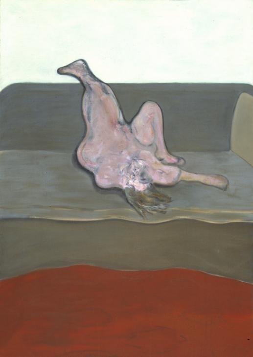 Francis Bacon, Reclining Woman, 1961