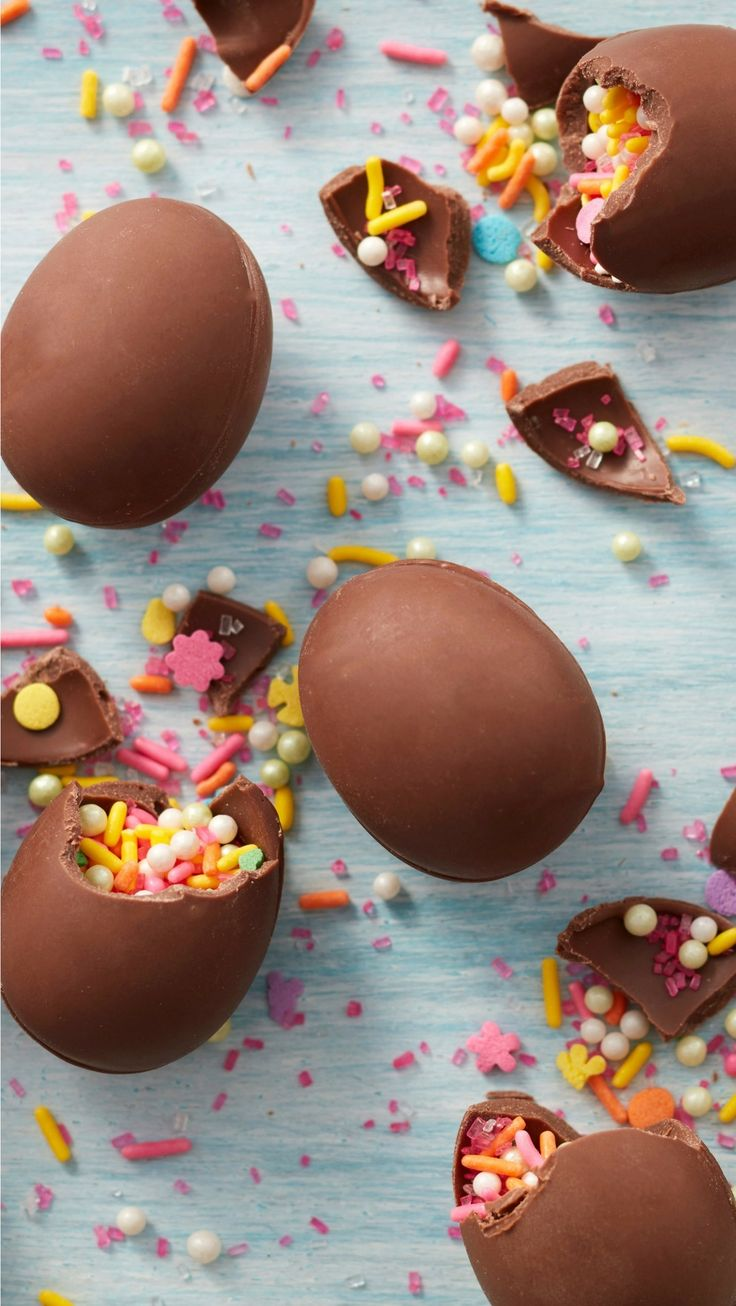 The annual Easter egg hunt is about to get a lot sweeter with these sprinkle-filled chocolate eggs. Learn how to make them using our Petite Easter Egg Mold and Light Cocoa Candy Melts. Make sure to stash them in hard to find places, then watch as kids squeal with excitement once they find them and take a bite.