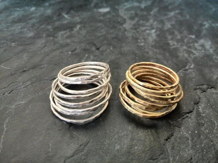 Lovely stackable rings from Simply Beautiful Jewellery