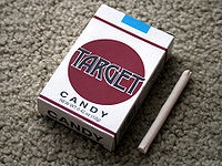 Candy Cigarettes...to 'pretend' I was smoking...