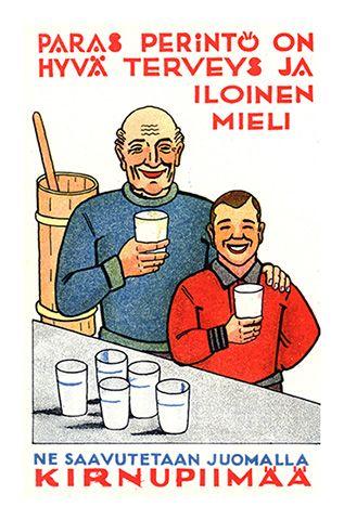 Valio kirnupiimä - 1930-luku