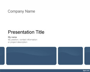 Free Construction Project Management Template for business presentations
