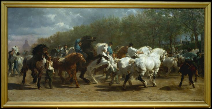 Rosa Bonheur | The Horse Fair | The Metropolitan Museum of Art