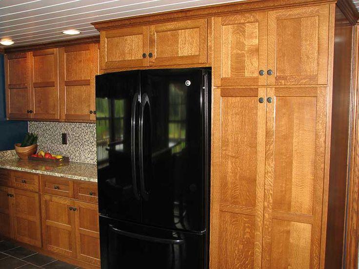 Red Oak Quarter Sawn Kitchen Cabinets