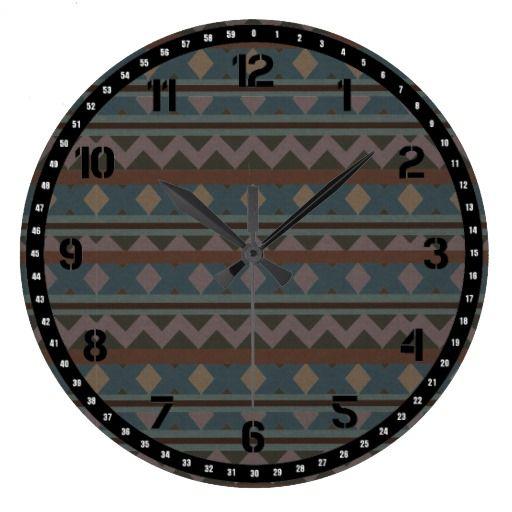 Native American Southwestern Clock