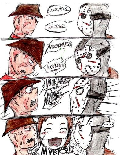 Freddy versus Jason...versus Micheal?