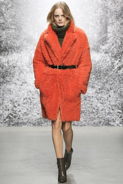 We've been counting sheep on this seasons catwalks and fashion pages. Sheepskin is a fashion staple due its warmth and durability. Long, short, natural, dyed, curly, shaved,coarse and super smooth there's no falling asleep when marvelling the variety of sheepskin this Autumn. Phuong L.