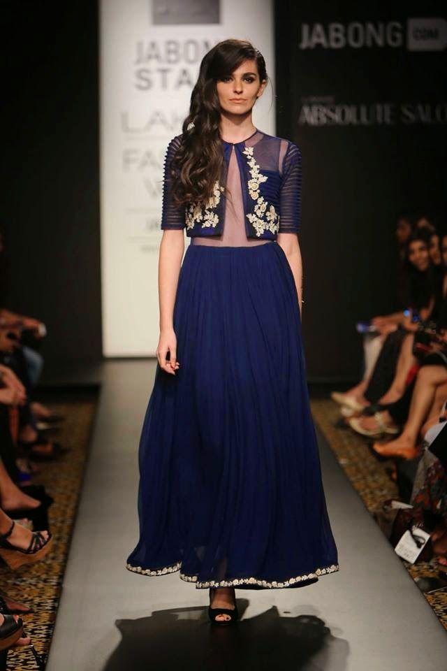 Ridhi Mehra lakme fashion week a/w 2014