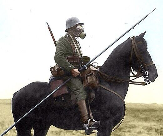 ww1 German lancer or uhlan The lancer or uhlan was the light cavalary armed with lances sabers and pistols! photo colors may vary from the original - ___FOLLOW THE HISTORY____ @wwi1914history  @prussian_military_history  @tatiana_of_russia  @the_world_of_military  @as_watchmaker  @german.ww2.page  @dutch_history  @prussia_germany_  @world.war.history  @history_is_cruel  _____________________________ #war #ww1 #worldwar #army #military #front #trench #knight #soldier #german #weapon #gun…