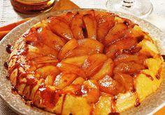 Пирог-перевертыш с яблоками и корицей!