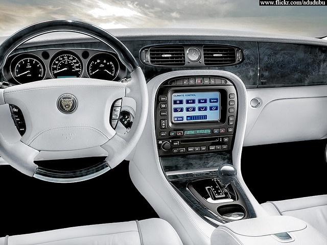 Jaguar XJ8 interior by __DReaMeR__, via Flickr