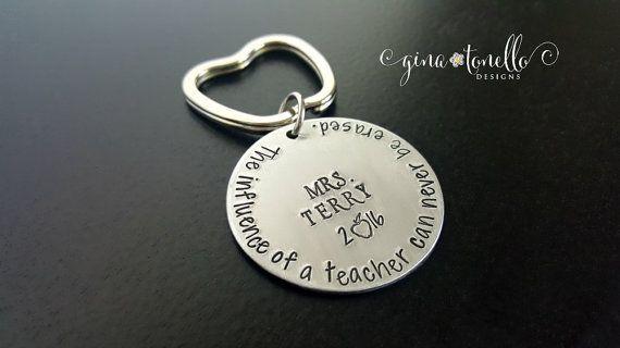Personalized Teacher Gift, Teacher Keychain, Teacher Appreciation Gift, Teacher End of Year Gift, Male Teacher Gift, Teacher Christmas Gift…