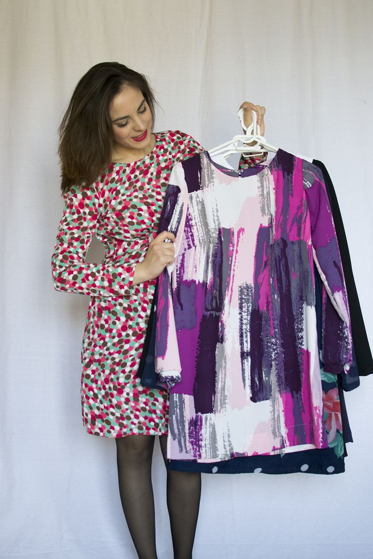 Making 7 versions of the Ultimate Shift dress by Sew Over It