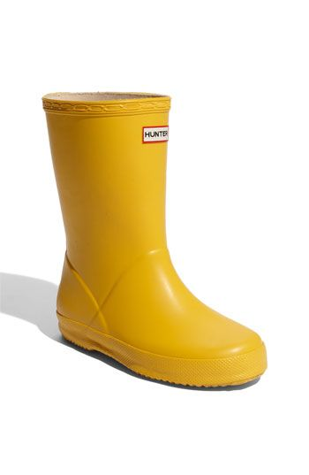 Hunter Kids First Rain Boot (Toddler & Little Kid) available at #Nordstrom