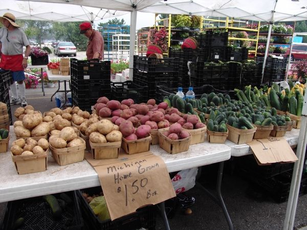Saturday is a market day @ Oakland County Farmers Market in Waterford, Michigan 6:30am - 2pm http://farmersmarketonline.com/fm/OaklandCountyFarmersMarket.html