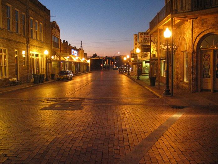 Downtown Nacogdoches, TX - where I work today (a quaint ...