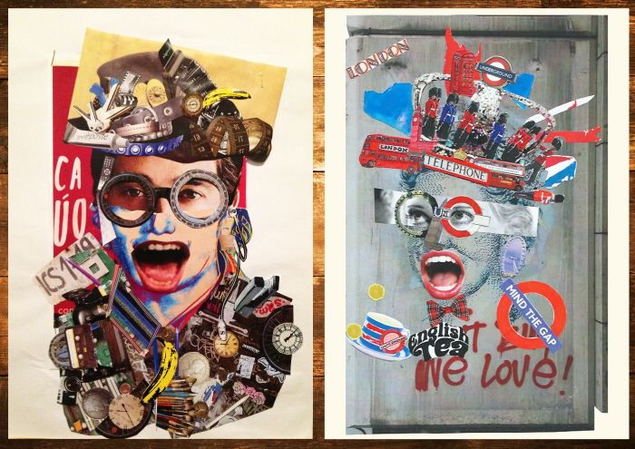 COLLAGE ART by Emiliano Altamirano at Coroflot.com