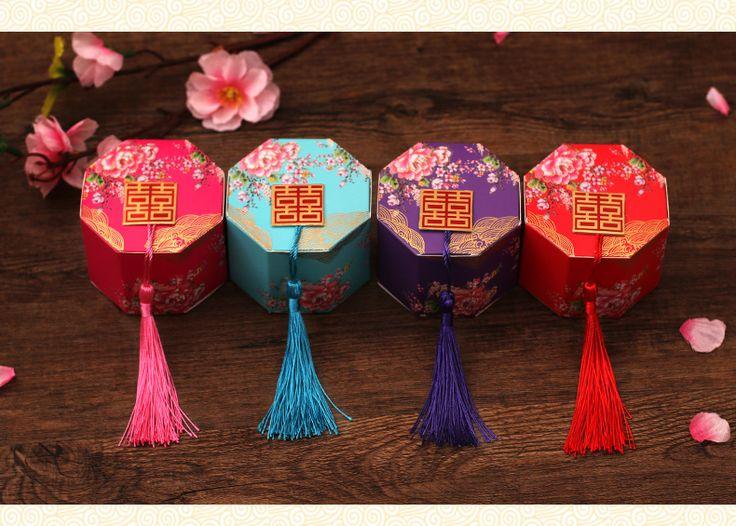 将爱起航 创意中国风喜糖盒子纸盒 中式婚礼个性婚庆用品结婚纸袋-tmall.com天猫