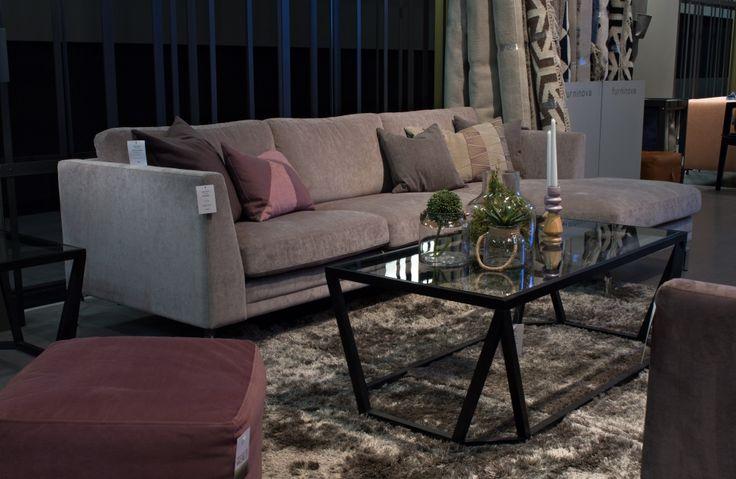 Bermuda Coffee Table - Black Frame http://www.soullifestyle.ie/products/coffee-tables/bermuda-coffee-table