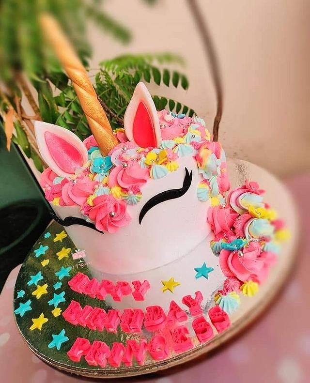 Unicorn Cake By Arti Trivedi Unicorn Cake Cake Cream Cake