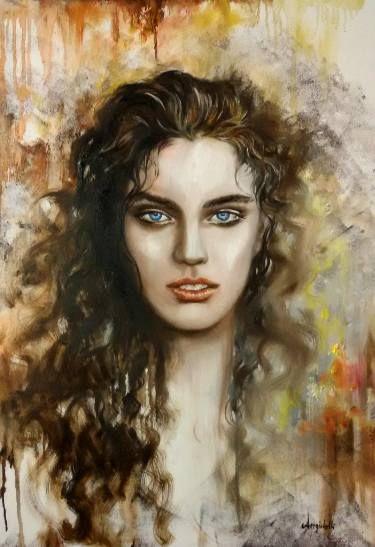 "Saatchi Art Artist Anna Rita Angiolelli; Painting, ""Magic"" #art"