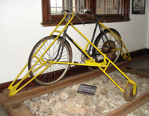 invention railroad track bicycle - photo #3
